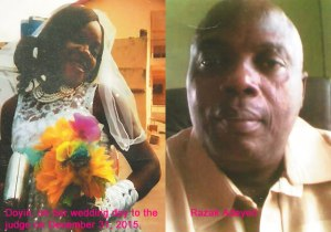 Woman immediately marries and have a child for Judge who dissolved her marriage in Lagos (Photo)