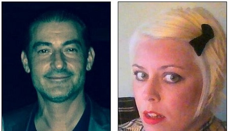 (L to R) Husband & victim, Giovanni James Gambino and Wife & alleged killer, Crystal Gambino