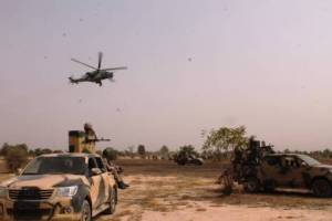 , Nigerian Air Force destroys Boko Haram bomb-making facility [VIDEO], Effiezy - Top Nigerian News & Entertainment Website