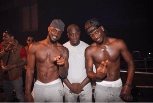 P-Square share sexy shirtless photo