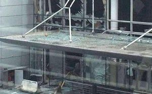 Terrorist bombing strike Brussels airport and metro, several dead (Graphic Photos)