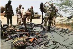 Boko Haram weapons