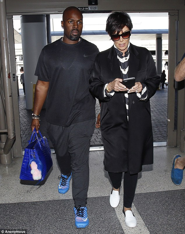 Corey Gamble and Kris Jenner1