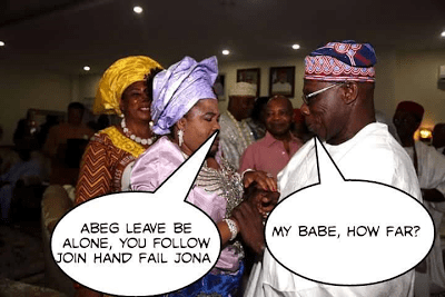 Obasanjo and Patience Jonathan