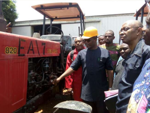 Anambra state inaugurates tractor service for farmers