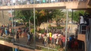 UNILAG shuts down over students protest of continous power cut, water shortage