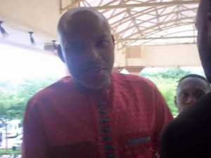 Nnamdi Kanu's lawyer asks court to order Buratai to produce him