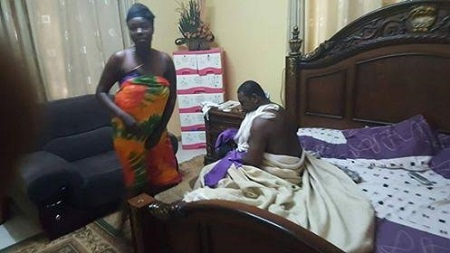 Ghanaian pastor caught pants down with married woman