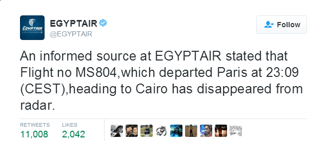 egyptair missing