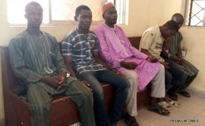 The men who murdered 75-year-old Bridget in Kano for allegedly blaspheming (Photo)