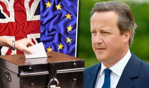 U.K. votes to leave European Union, as Prime Minister David Cameron resigns