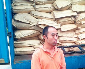 Chinese man arrested in Lagos for smuggling materials used to make explosives (Photo)