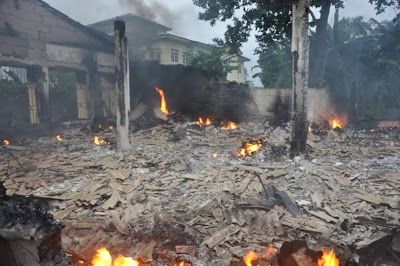 INEC office gutted by fire