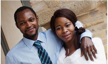 Emmanuel Chidi Nnamdi with wife Chinyere