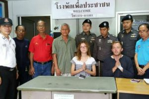 Shameless public sex act couple caught in Thailand forced to apologize publicly (