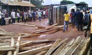 Truck crushes woman to death in Nnewi, Anambra state