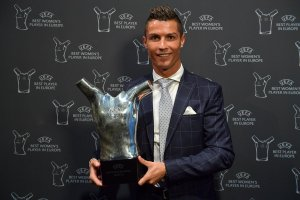 Cristiano Ronaldo crowned UEFA best player + Champions League Draws