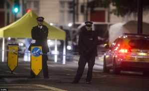 Police arrest man after woman stabbed to death and 5 injured in London
