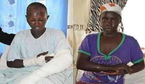 Man hacks wife with knife, because she refused to share her salary in Kenya