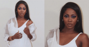 , Tiwa Savage steps out in all white outfit (Photo), Effiezy - Top Nigerian News & Entertainment Website