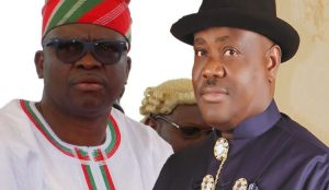 Fayose and Wike blamed for the crisis in PDP leadership