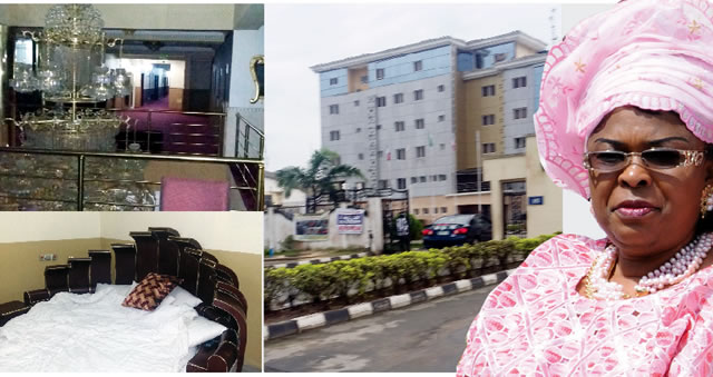Former First Lady, Dame Patience Jonathan and her hotel