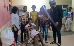 Pregnant lady who took part in Kcee's 'Tinana' dance competition welcomes twins (Photos + Video)