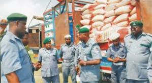 Customs reveals how smugglers import rice into Nigeria
