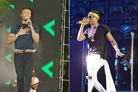 , How Wizkid & Tanzanian singer Ali Kiba almost ruined Chris Brown's African concert, Effiezy - Top Nigerian News & Entertainment Website