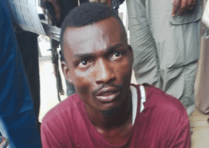 , Mad woman instructed me to sacrifice human head – Suspect (Photo), Effiezy - Top Nigerian News & Entertainment Website