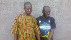 Two suspected ritualists arrested as police raid den