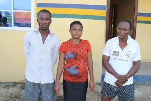 Kidnappers trying to collect ransom in Rivers state nabbed (Photos