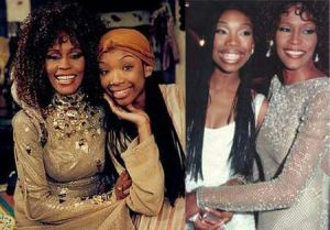 Brandy pays tribute to Whitney Houston, calls her 'an angel'