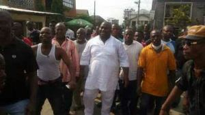 Asari Dokubo takes to the streets to celebrate PDP's victory in Rivers State