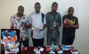 Police arrest popular Benue Yahoo Boys in Abuja (Photos)