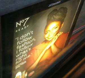 Chimamanda Adichie is a billboard covergirl