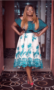 Nollywood Actress, Funke Akindele Bello In London To Deliver Her Twins Or Triplets