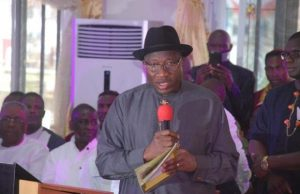 I am under pressure to contest for Presidency in 2019 – Goodluck Jonathan