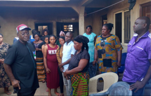 Benue state governor employs daughter of his staff who died in Uyo church collapse