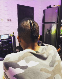 Check on singer, Tekno's new hair style (Photos)