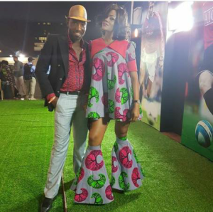 Would you rock Timi Dakalo's wife outfit?