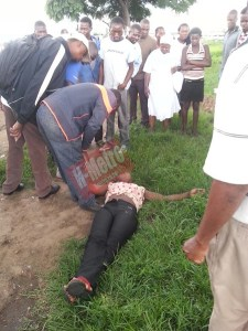 [Photo]: Man brutally assaults wife after catching her cheating