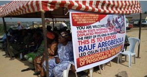 Osun State Unpaid salary earners form their own IDP.