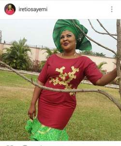 Happy Birthday Actress Ireti Osayemi Bakare