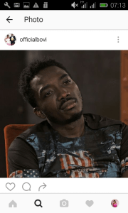 Between Bovi and a fan