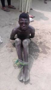 Young boy beaten mercilessly in Sapele for stealing