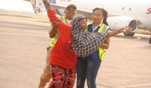 161 Nigerians deported from Libya, happy to be back home (Photos)