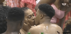 Watch: Big Brother Naija contestants kissing festival for valentine (Video)