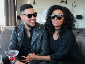 Bonang Matheba replies boyfriend AKA 'it will never be thesame'