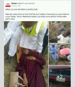 Ghastly accident along Kaduna road leaves many dead.Graphic photos